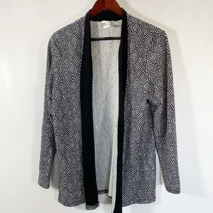 H&M Cardigan Open Front Stretch Long Sleeve